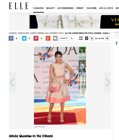 Best Dressed at CFDA Awards - <a target='_blank' href=